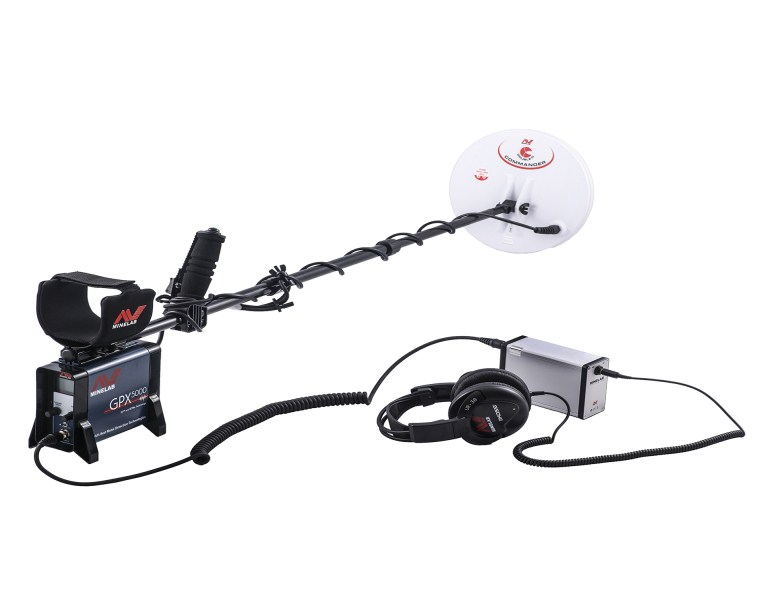 MINELAB GPX 5000 PI Sistemli (Pulse Induction Sys. )   DEFİNE DEDEKTÖRÜ