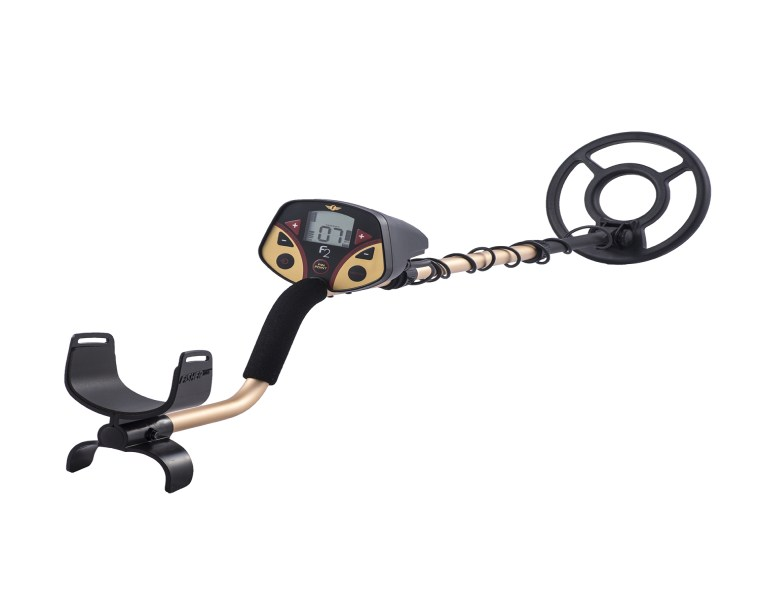 "FISHER F2 Metal Detector With 8"" Coil"