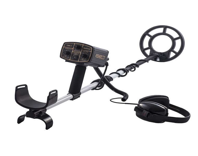 FISHER 1280X-8 Underwater Metal Detector With 8'' Coil