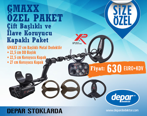XP Gmaxx II Special Package: The package with double coil and additional coil cover