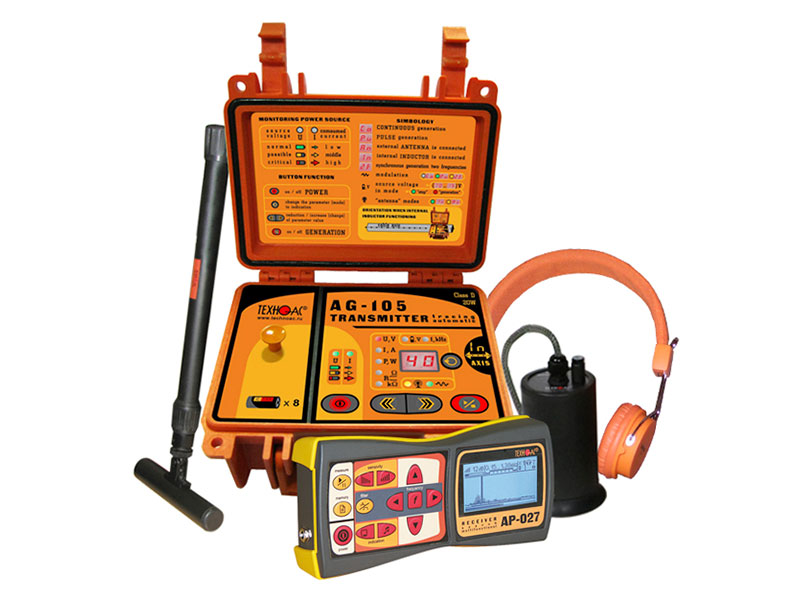 "TECHNOAC - Water leak detector and cable (pipe) locator ""Success ATG-435.15N"""