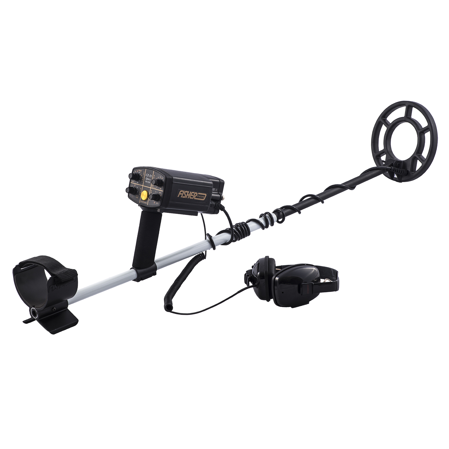 FISHER CZ21-8 Underwater Metal Detector With 8'' Coil