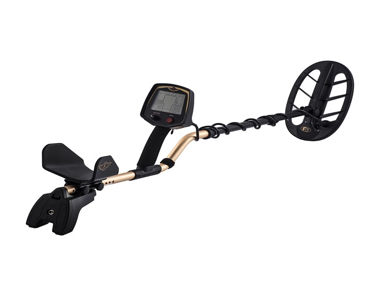 "FISHER F75 Metal Detector With 11"" DD Coil"