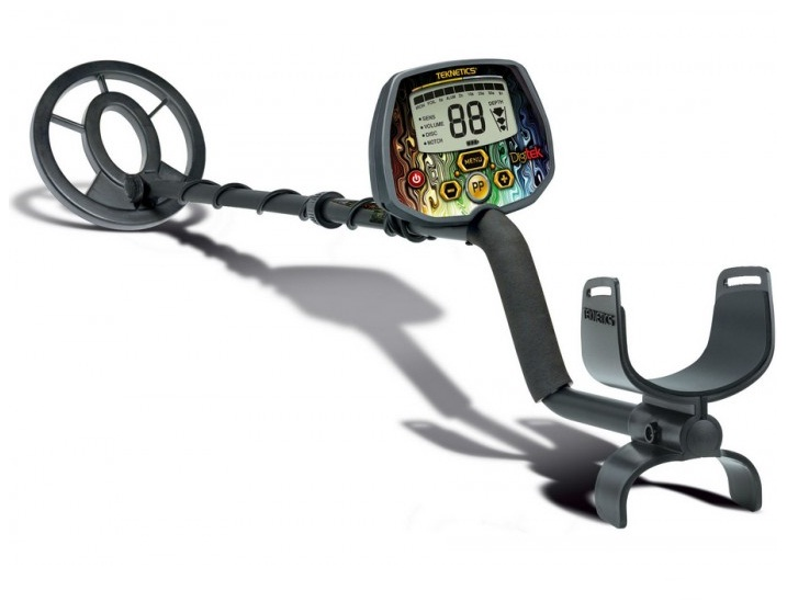 "TEKNETICS Digitek Metal Detector With 7,5"" Concentric Coil  VLF"