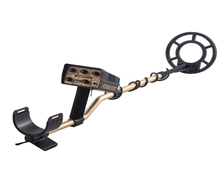 "FISHER 1270X-8 SPECIAL EDITION Metal Detector With 8"" Coil"